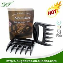 Hot Sale Bear Claw Shape Meat Handling Forks & Shredding Claws & Shredder Paws for Pulled Beef, Pork