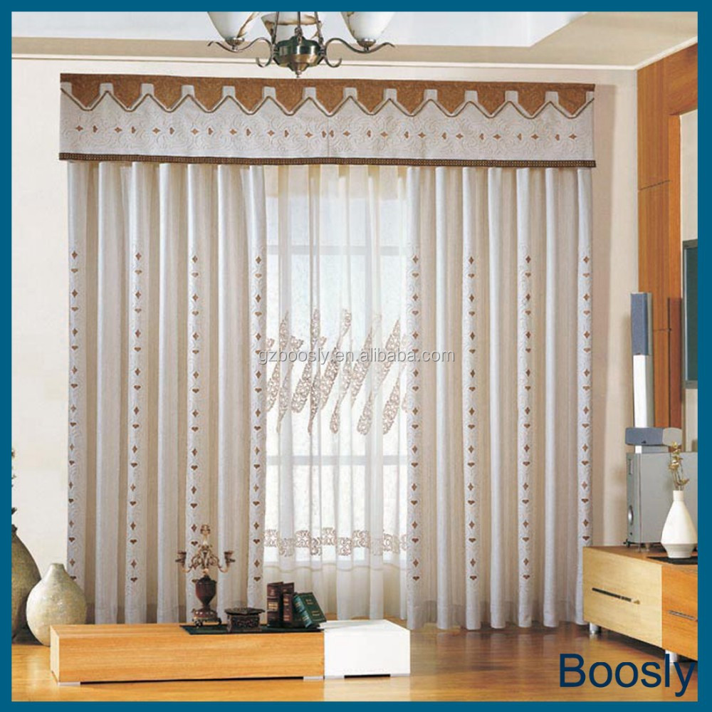 Polyester Jacquard Motorized Window Curtain Buy Unique