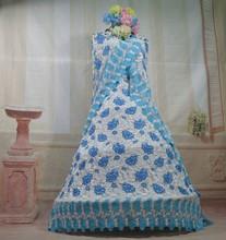 2015 bonito vestido de verão rendas seco africano tecido <span class=keywords><strong>tule</strong></span> <span class=keywords><strong>bordado</strong></span>