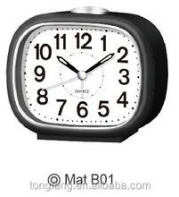 Hot sale Plastic table bell alarm clock