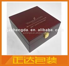 Guangzhou Factory Custom Storage Box Essential Oils in Wood