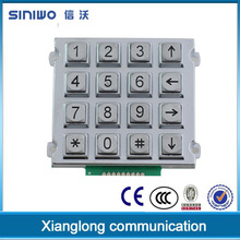 Convenient keypad long life expectancy