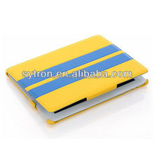 New arrival top quality case from China supplier pu synthetic leather for iPad air 2 case
