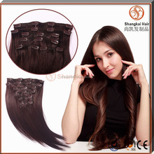 Hot Sell Clip In/Clip On Hair Extensions Walmart Hair