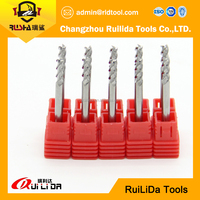 Metal working long shnak flat end mill cemented carbide long shank end mills square type made in China
