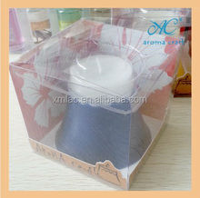 Packed in PVC box and hot sales birthday candles