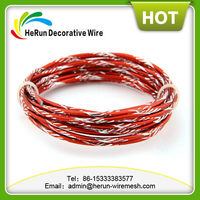 HR hot sale 2mm diamond aluminum wire making jewelry