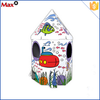 Factory price hot sale funny kid play DIY roof top tent