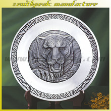 New design Delicate Round Serving Tin Tray