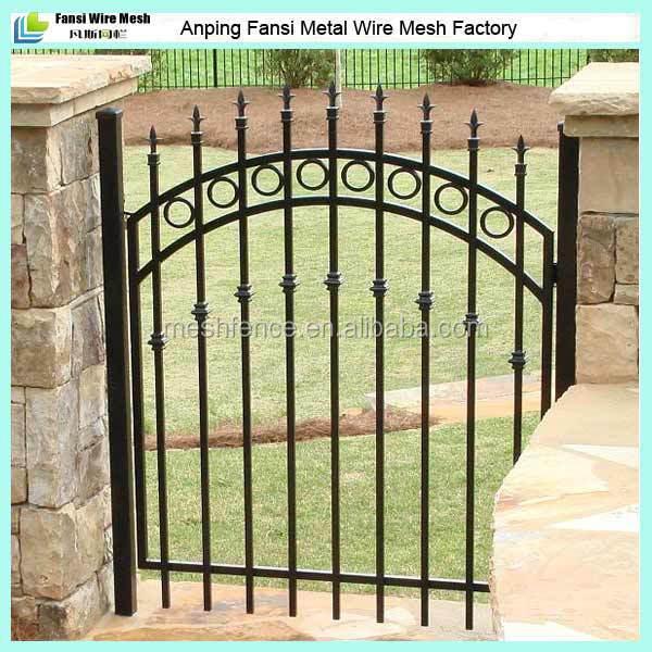 types of metal garden fencing - 28 images - wood fence designs true ...