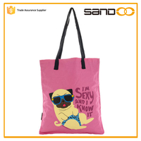 new fashion funny women's bag, sexy dog printed handbags wholesale 2015