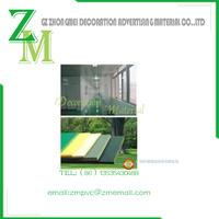 PVC veneer panel carved furniture decorative material foaming board/Andy board/Schafer board