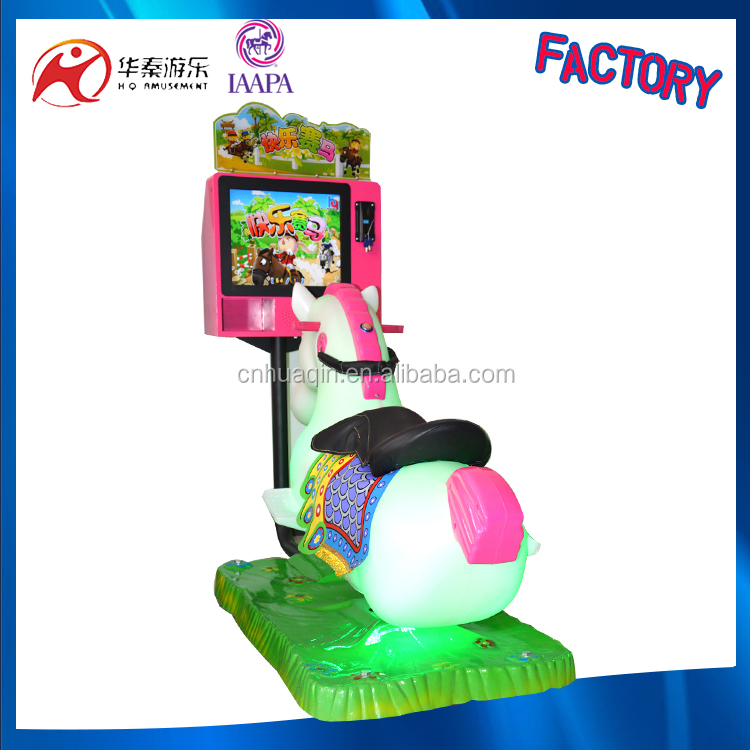 Unblocked car games kiddie ride happy horse racing coin operated