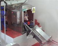 hot new products of 100 200 pig slaughter house equipment machine and process line with halal meat slaughterhouse equipment used