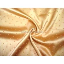 Polyester jacquard fabric/jacquard elastic satin fabric