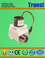 6V 12 Ohms G 1/2 Inch 0.2-8 Bar Pressure Plastic Straight Irrigation/ Water Solenoid Valve