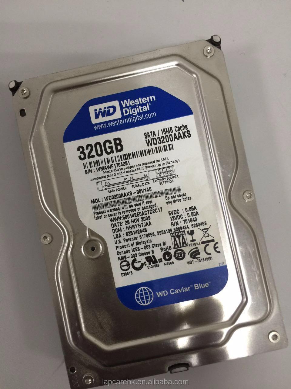 35 Used Refurbished Hdd 320gb Sata 7200rpm Internal Hard Disc Hardisk Pc Wd Blue New
