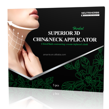 Superior firming ultimate private label Neutriherb Anti Wrinkle double chin removal wrap it works for Face V-line