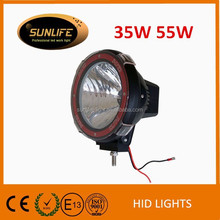 7 inch Heavy-duty HID auxiliary driving light, HID off road work light, Car accessories 33W 55W HID driving light Hid work lamp