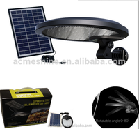 Dusk to Dawn Solar Flood Light with Timer Automatically Night on and Day off