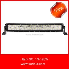 Direct Price 22'' Curved Car Led Light Bar 120w Led Driving Light