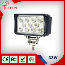33W Epistar Rectangular working light car at cheap price