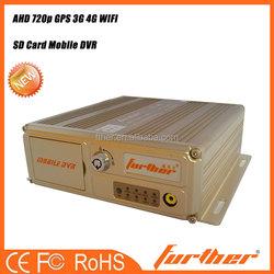 4 Channels SD card Mobile MDVR / Car black box MDVR (GPS+3G/4G+WiFi)