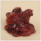 Chineses estatuetas de resina tartaruga dragão