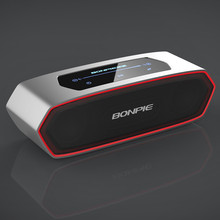 High-end Stereo Bluetooth Wireless Speaker with mic handsfree functions for Laptop PC Mobile
