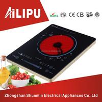 2015 new product electrical kitchen appliances super slim infrared cooker,ultra thin hot plate,schott ceran ceramic hob