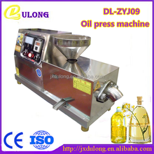 CE approved advanced screw expeller oil press cold press for sale(DL-ZYJ09)