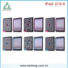 3in1 Robot Pattern Plastic Case For iPad4 Tablet Case, For iPad4 Plastic PC Case