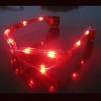 2016 Most Popular LED light eyeglasses Supplies Flashing Party LED Glasses