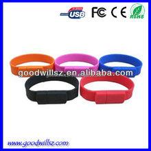 Hot sale Cute Bracelet USB flash drive