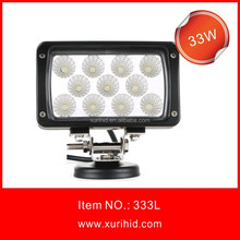 Hot Sale New Product! 33w 12v led driving lights for harley davidson