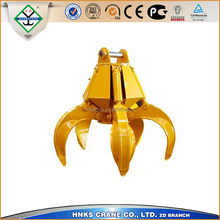 Steady working hydraulic grab bucket with factory price