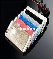 Shiny Glitter Hard Plastic PC Bling Diamond Mobile Phone Back Cover Cases for iPhone 4 4S