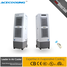 Portable evaporative air cooler / Comercial and household desert air cooler with timer, remote control,140W, airflow 2000cmh