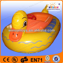 baby inflatable duck pool bumper boat