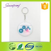 Alibaba express LED PVC key chain fashion keychain for promotion