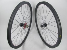 Tubeless MTB Bicycle wheels, 29er carbon clincher and tubeless 30mmx30mm wheelset for mountain bike no rim holes 28H/32H