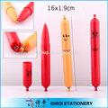 artículos de papelería de oficina de color diferentes embutidos bolígrafo