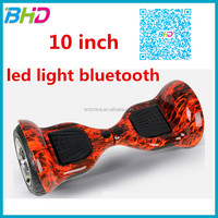 CE Certification and 1-2 hours Charging Time 2 wheel scooter 2 wheel electric hover board