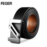 Feger Classic Stainless Steel Waist Belts and Buckles Wholesale