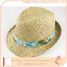 2015 Popular Unisex Gender Kids Seagrass Straw Hat
