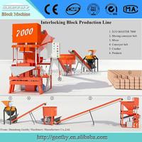 Eco master 7000 china clay brick making machine 7000 brick machine clay brick making line