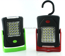 NEW Portable 3+20 LED work light with magnet and hook