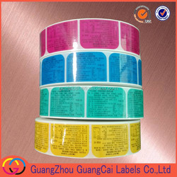 private label sticker plant label peel off sticker roll packing label sticker
