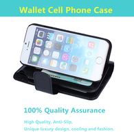 new arrivel high quality wholesale wallet case for iphone 6