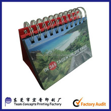 New design customized wall scroll calendar